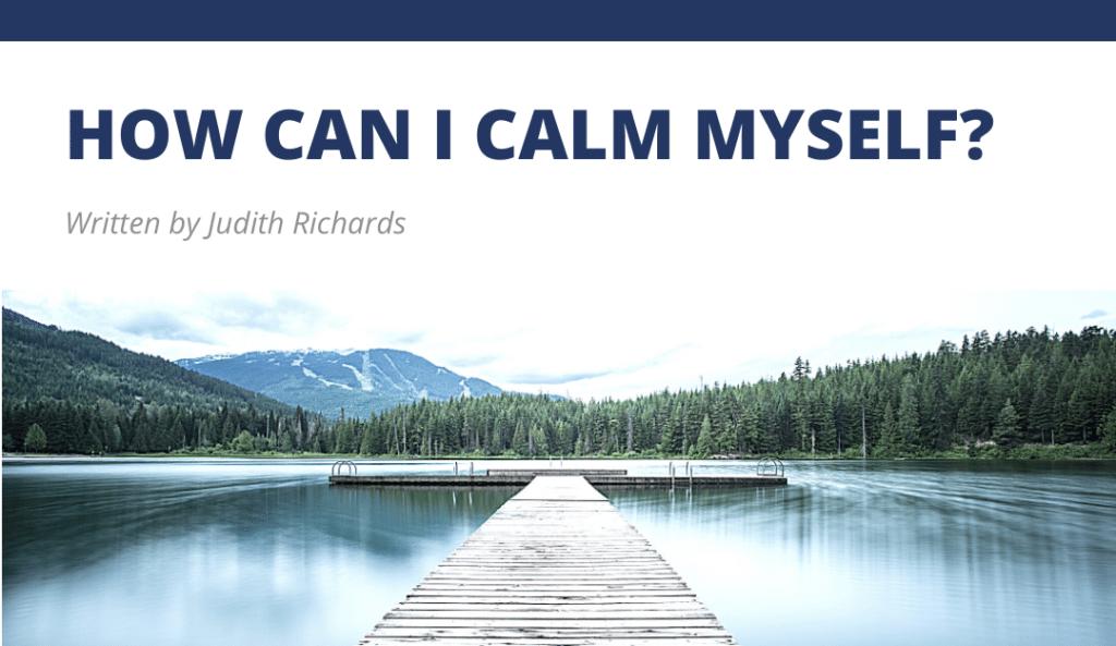 TRTP Blog - How can I calm myself?
