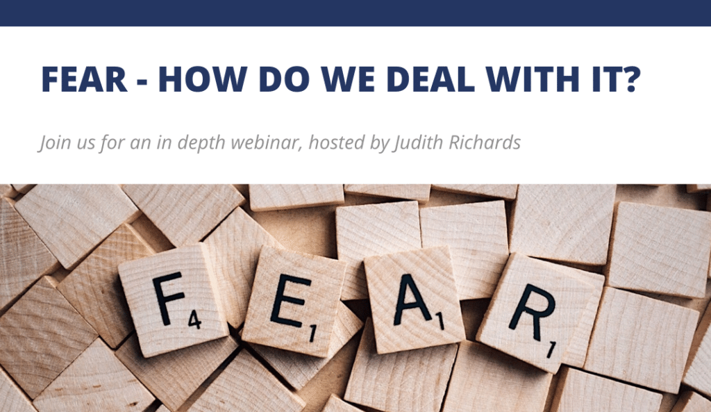 How do we deal with fear? Blog Feature Image