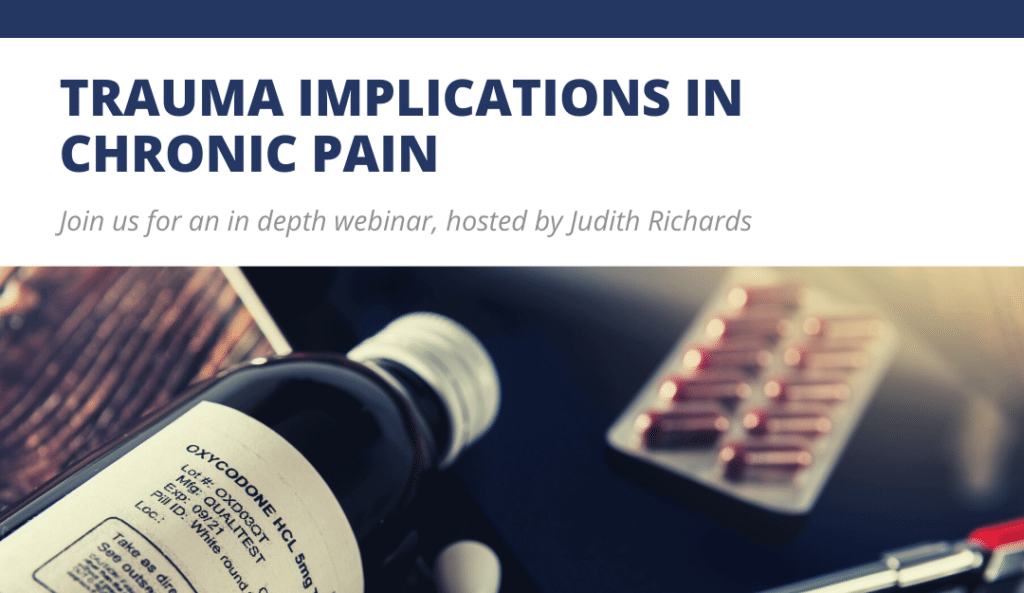 Trauma Implications in Chronic Pain - Trauma PTSD Depression Trauma Training Image