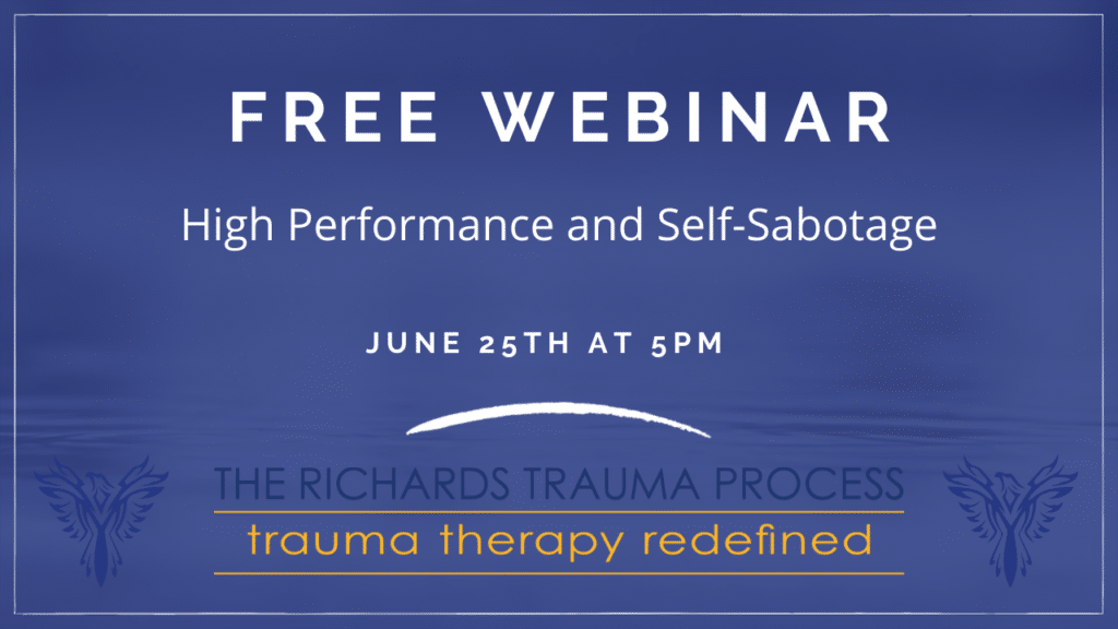 Free webinar banner High Performance and Self-Sabotage